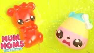 Num Noms | Slime Trampoline | Num Noms Snackables Compilation | Videos For Kids