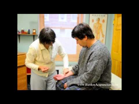 Neck pain  disappears instantly with Balance Method acupuncture