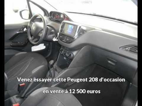 offre de peugeot 208 1 2 puretech active 5p de 2014 en vente castres youtube. Black Bedroom Furniture Sets. Home Design Ideas