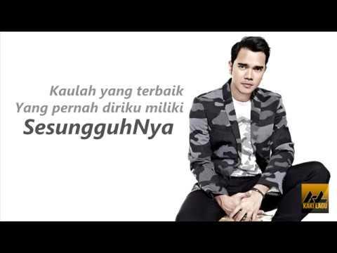 Aliff Satar - Sesungguhnya Aku (Lirik Video)