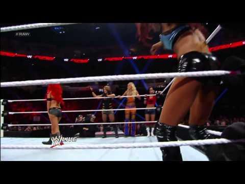 WWE Raw 2013 11 25 Divas Traditional Survivor Series Elimination Rematch 1080pHD
