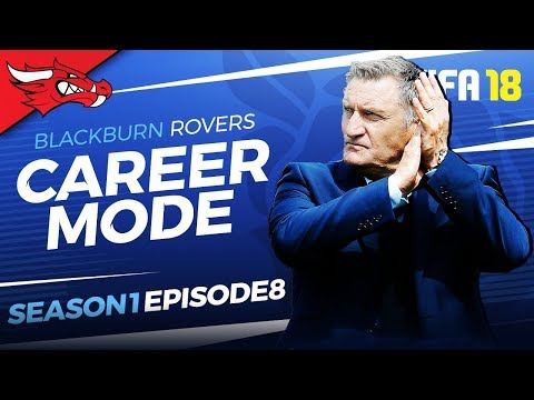 TOP OF THE LEAGUE | FIFA 18 Blackburn Career Mode - EP08 S1