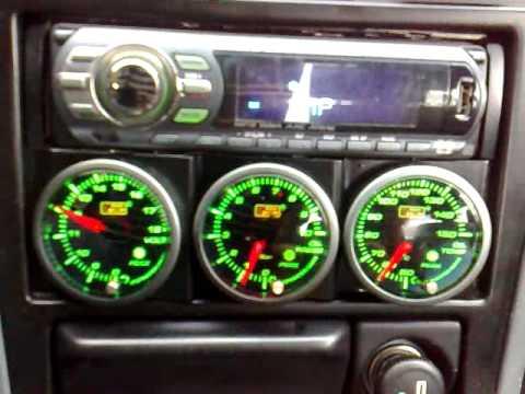 Auto Gauge Sm Peak Green Work Honda Accord Coupe Cd7 Si