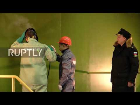Russia: Nuclear submarine Prince Pozharsky laid down in Severodvinsk