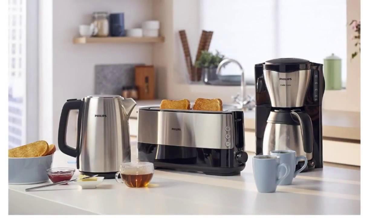 kaffeemaschine mit thermoskanne und tmer youtube. Black Bedroom Furniture Sets. Home Design Ideas