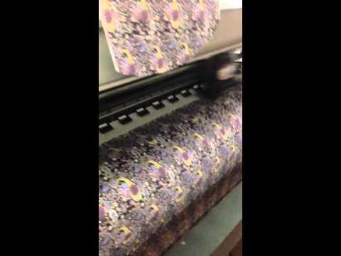china fabric digital print factory