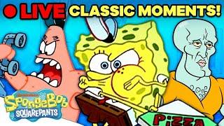 Download 🔴 SpongeBob Marathon of the Most CLASSIC Moments!   SpongeBob Live Stream