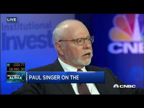 Paul Singer - We Are Limited In How Leverage A System Can Be - 20 Sep 16  | Gazunda