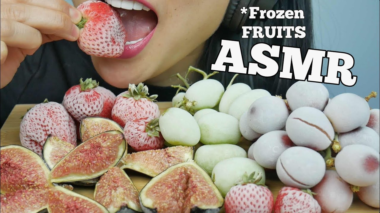 Asmr Frozen Grapes Strawberries Figs Eating Sounds No Talking Sas Asmr Youtube Be sure to check out my playlist, i have many many many videos for you to enjoy. asmr frozen grapes strawberries figs eating sounds no talking sas asmr