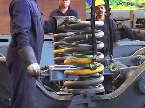 Periodic Overhauling of FIAT High Speed Railway Bogie  in the Workshop-- Yadvendu
