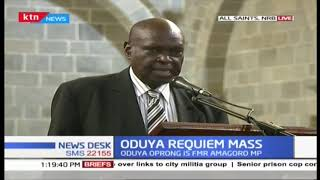 Requiem mass for the Former Amagoro MP Fredrick Oduya Oprong ongoing