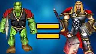 Самая нечестная игра в истории Warcraft 3