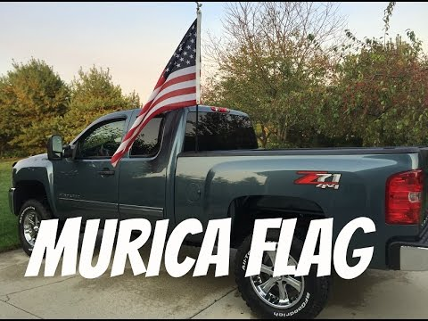Create Install Flag Pole For Truck Youtube