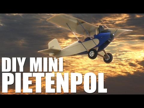 DIY Mighty Mini Pietenpol | Flite Test