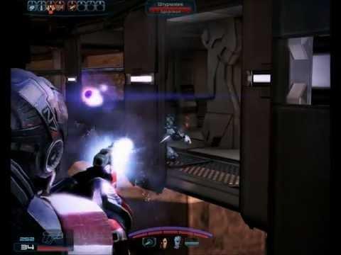 """Смотреть прохождение игры Mass Effect 3. Серия 2: """"Марсиане."""""""