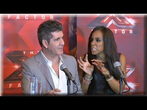 Simon Cowell, Kelly Rowland & Paulina Rubio Press Conference | The X Factor Season 3 Top 3