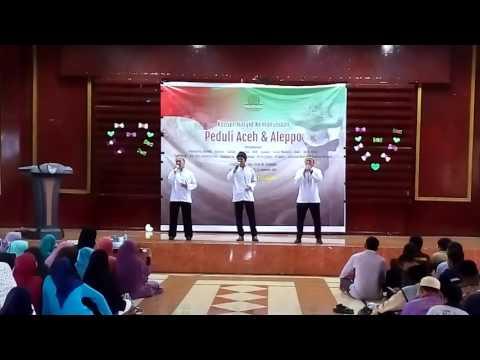 Oase Nasheed Performance Konser Nasyid Kemanusian Peduli Aceh & Aleppo
