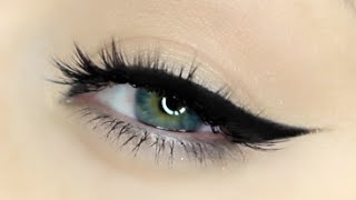 Perfect Winged Liner Tutorial | How to apply winged eyeliner!!