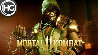 Baixar Mortal Kombat 11 Scorpion vs. Skarlet Gameplay (Fatality)