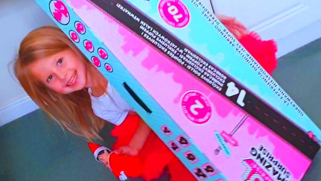 Эльвира Игры в куклы ЛОЛ от Эльвира и Райан видео для малышей