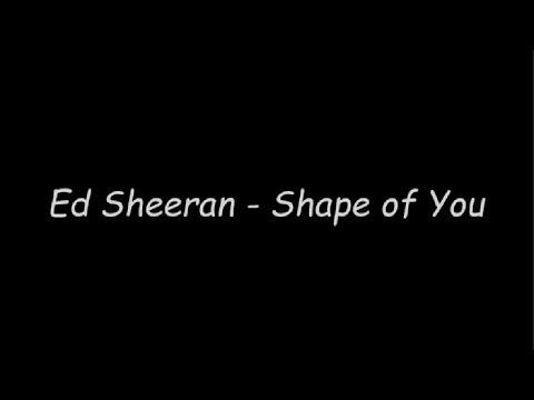 Ed Sheeran - Shape of You (Karaoke With Lyrics)