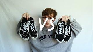 vans sk8 hi vs old skool