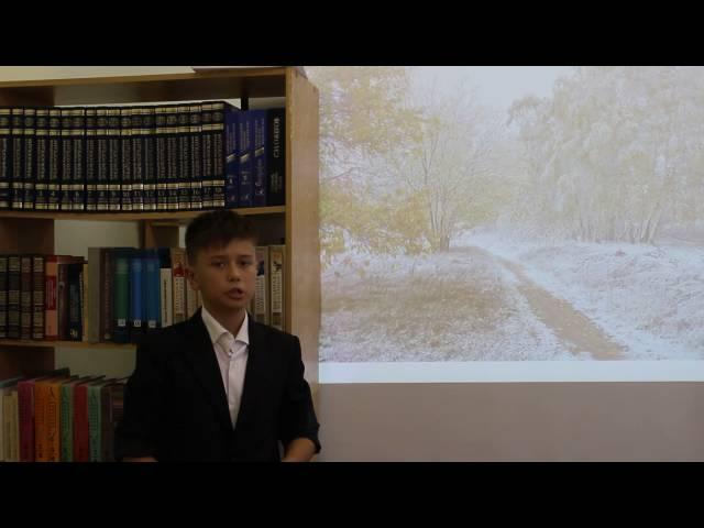 Изображение предпросмотра прочтения – ДанилЗотов читает произведение «Первый снег (Серебро, огонь и блёстки…)» В.Я.Брюсова