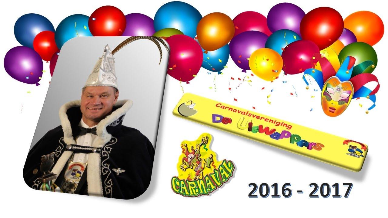 2016 CV de Ulewappers Verkiezing Prins Carnaval 2016-2017 - YouTube