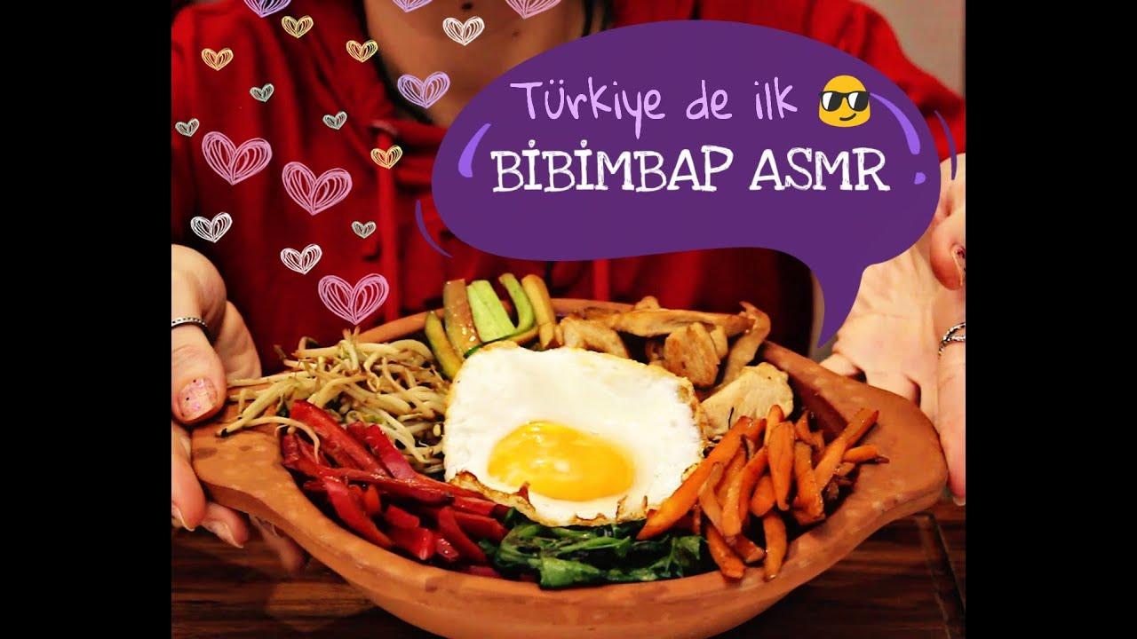 Bibimbap TÜRKÇE ASMR / KORE YEMEĞİ / KOREAN FOOD 비빔밥 - YouTube