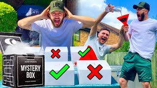 YOU'LL NEVER BELIEVE WHAT'S IN THE BOX!! (HILARIOUS CHALLENGE)