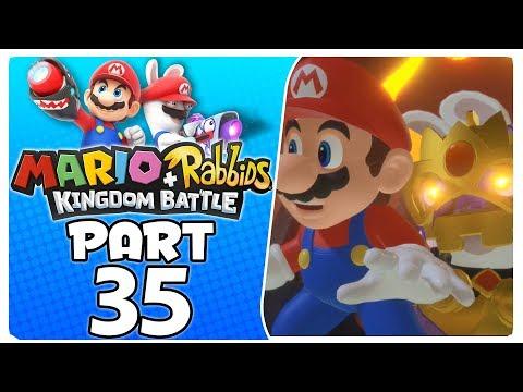 "Mario + Rabbids Kingdom Battle - Part 35 | World 4-8 ""Castle Guards"""