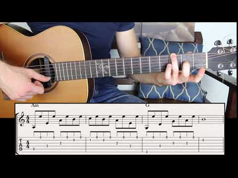 Beautiful Chords that Sound like Melody - Creative Fingerstyle Guitar