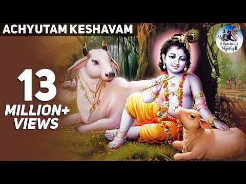 Top Krishna New Song - Achyutam Keshavam Krishna Damodaram - Krishna Bhajans - ( Full Song )