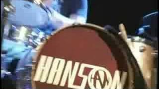The DL - Hanson sings 'Mmmbop' in concert