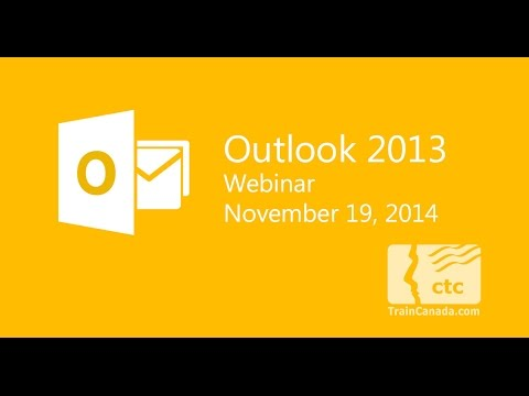 Microsoft Outlook 2013 Training