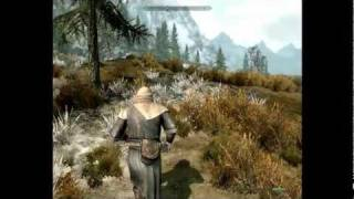 skyrim lets play ep 2- naked lady