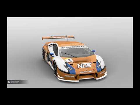 Gran Turismo SPORT -Huracan Gt3 Livery (Nos Energy)