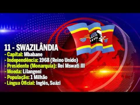 Lista de Países, Capitais, Moedas, Independência e População da SADC |  CANAL 82 -ANGOLA |