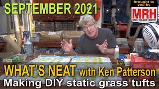 Best DIY static grąss tufts   September 2021 WHATS NEAT Model Railroad Hobbyist