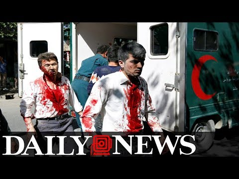 At Least 90 People Killed Or Wounded In Kabul Suicide Bomb