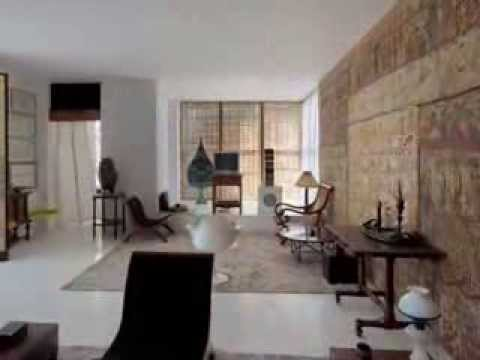 Number 11 Suite in Architect Geoffrey Bawa's Colombo house