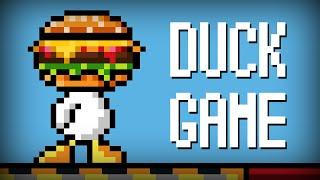 BURGER-KACZKA vs ELEVEN, ALIEN, CZUŁEK (Duck Game #2)