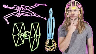 How Would You Build a Real X-Wing? (Because Science w/ Kyle Hill)