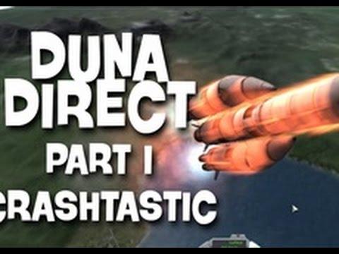 KSP: Duna Direct EP 1 CRASHTASTIC!