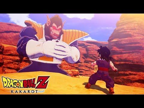 Dragon Ball Z KAKAROT - Gohan vs Vegeta (Saiyan Saga) Gameplay @ 1440p ᴴᴰ ✔