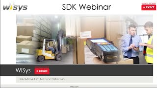 WiSys New 4.1 Business Objects SDK Full Webinar