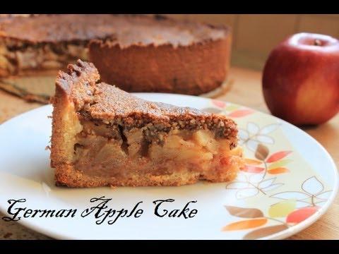 German Layered Apple Cake