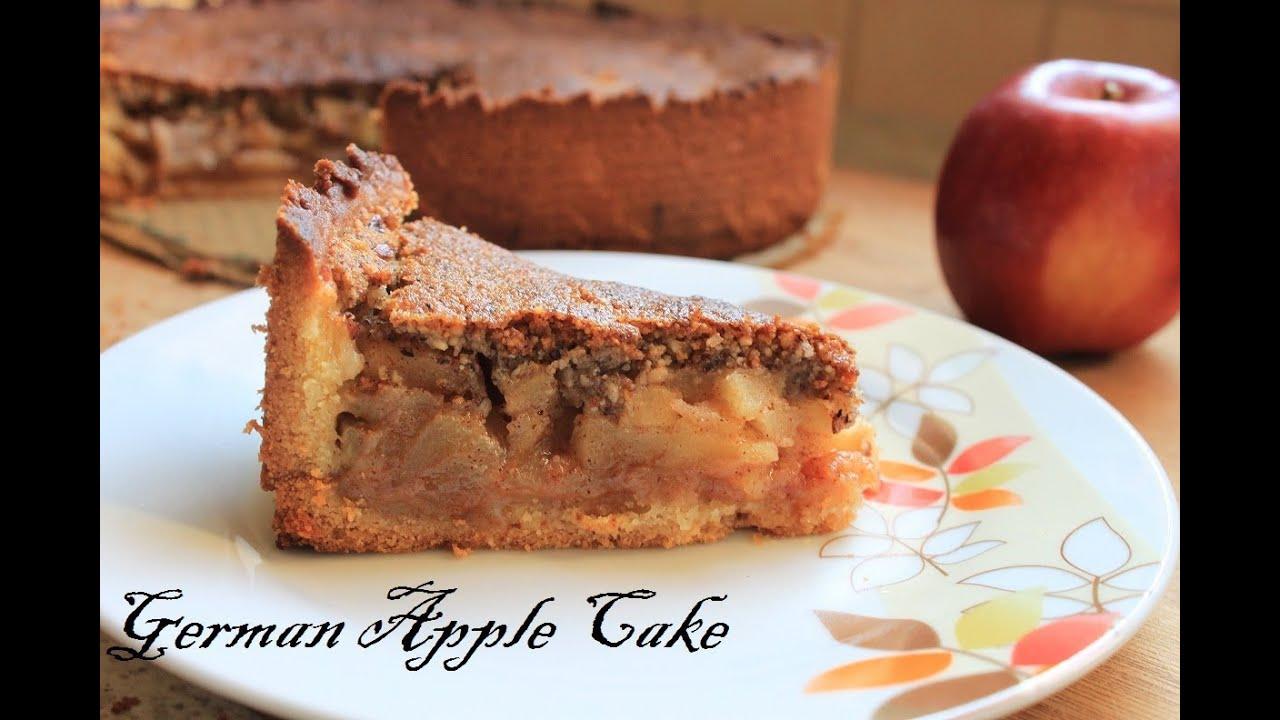 Apple Cake No Flour No Sugar