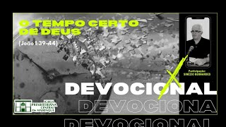 Devocional | O TEMPO CERTO DE DEUS | 03/12/2020