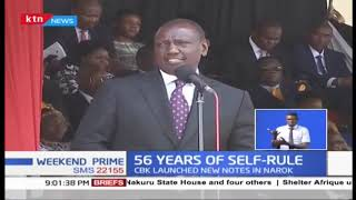 50 Years of Self-rule: President Uhuru today has reiterated his fight against graft